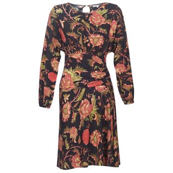 Ruhák Női Rövid ruhák Derhy BANQUISE Fekete  / Sokszínű