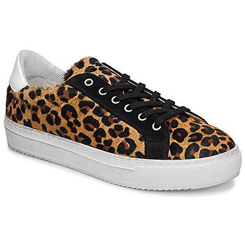 Cipők Női Rövid szárú edzőcipők Ikks BP80245-62 Leopárd