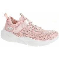 Cipők Lány Rövid szárú edzőcipők Skechers Meridian Best Intent LT Rózsaszín