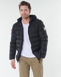Ruhák Férfi Steppelt kabátok Geographical Norway BALANCE-NOIR Fekete