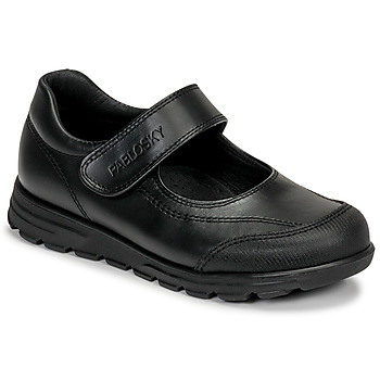 Cipők Lány Balerina cipők / babák Pablosky 334310 Fekete