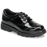 Cipők Lány Oxford cipők Pablosky 335419 Fekete