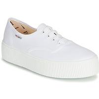 Cipők Női Rövid szárú edzőcipők Victoria 1915 DOBLE LONA Fehér