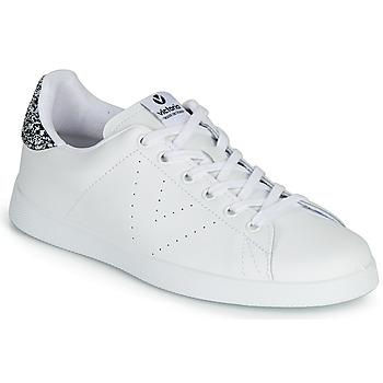 Cipők Női Rövid szárú edzőcipők Victoria TENIS PIEL Fehér