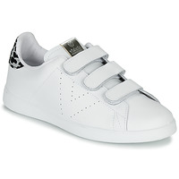 Cipők Női Rövid szárú edzőcipők Victoria TENIS VELCRO PIEL Fehér