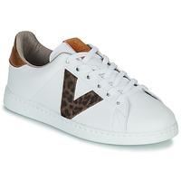 Cipők Női Rövid szárú edzőcipők Victoria TENS PRINT Fehér