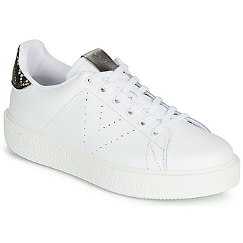 Cipők Női Rövid szárú edzőcipők Victoria UTOPIA RELIEVE PIEL Fehér