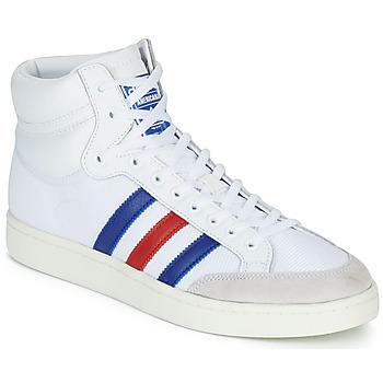 Cipők Magas szárú edzőcipők adidas Originals AMERICANA HI Fehér / Kék / Piros