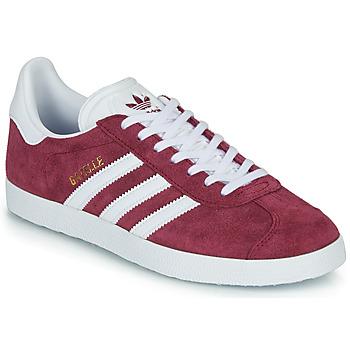 Cipők Rövid szárú edzőcipők adidas Originals GAZELLE Bordó