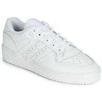 Cipők Rövid szárú edzőcipők adidas Originals RIVALRY LOW Fehér