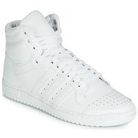 Cipők Férfi Magas szárú edzőcipők adidas Originals TOP TEN HI Fehér
