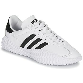 Cipők Férfi Rövid szárú edzőcipők adidas Originals COUNTRYXKAMANDA Fehér / Fekete