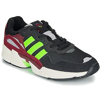 Cipők Férfi Rövid szárú edzőcipők adidas Originals YUNG-96 Fekete  / Zöld