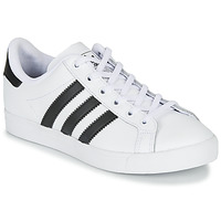 Cipők Gyerek Rövid szárú edzőcipők adidas Originals COAST STAR J Fehér / Fekete