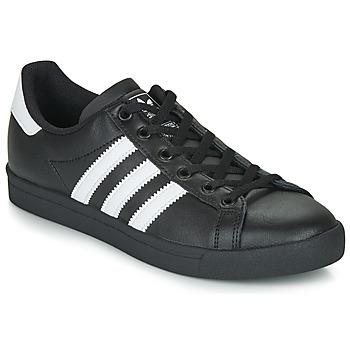 Cipők Gyerek Rövid szárú edzőcipők adidas Originals COAST STAR J Fekete  / Fehér