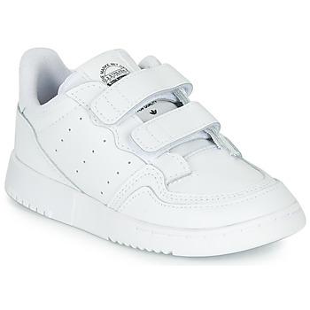 Cipők Gyerek Rövid szárú edzőcipők adidas Originals SUPERCOURT CF I Fehér