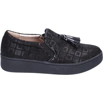 Cipők Női Belebújós cipők Uma Parker BR54 Fekete