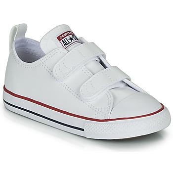 Cipők Gyerek Rövid szárú edzőcipők Converse CHUCK TAYLOR ALL STAR 2V - OX Fehér