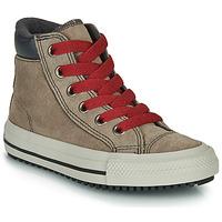 Cipők Magas szárú edzőcipők Converse CHUCK TAYLOR ALL STAR PC BOOT BOOTS ON MARS - HI Barna