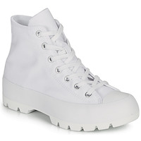 Cipők Női Magas szárú edzőcipők Converse CHUCK TAYLOR ALL STAR LUGGED BASIC CANVAS Fehér