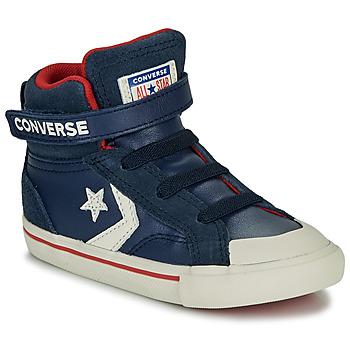Cipők Gyerek Magas szárú edzőcipők Converse PRO BLAZE STRAP - HI Sötétkék