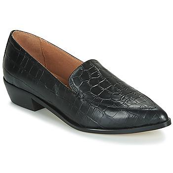 Cipők Női Mokkaszínek Betty London LETTIE Fekete