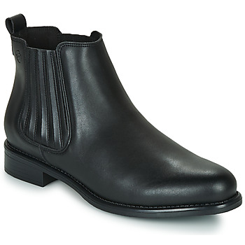 Cipők Női Csizmák Betty London LOYSE Fekete