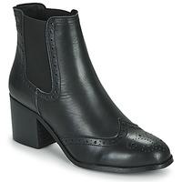 Cipők Női Bokacsizmák Betty London LARISSA Fekete
