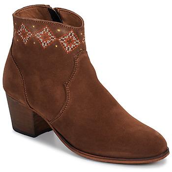 Cipők Női Bokacsizmák Betty London LAURE-ELISE Teve