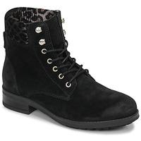 Cipők Női Csizmák Betty London LIVIANE Fekete