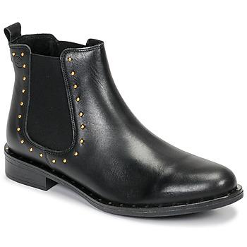 Cipők Női Csizmák Betty London LIZENN Fekete