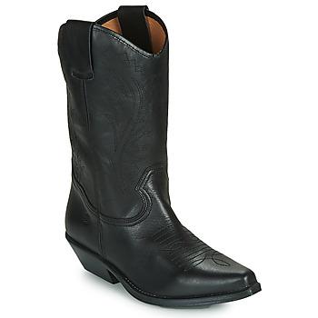 Cipők Női Városi csizmák Betty London LOVA Fekete