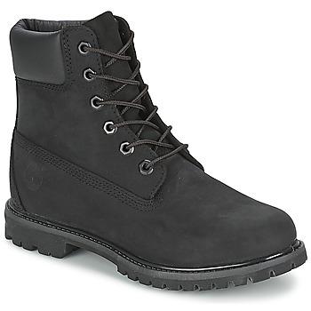 Cipők Női Csizmák Timberland 6IN PREMIUM BOOT - W Fekete