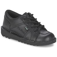 Cipők Gyerek Rövid szárú edzőcipők Kickers KICK LOTOE Fekete