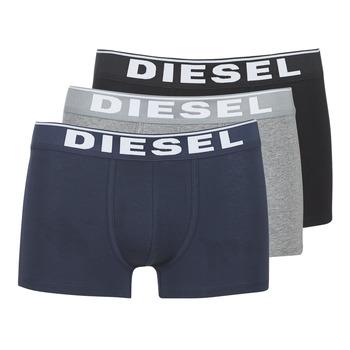 Fehérnemű Férfi Boxerek Diesel DAMIEN Szürke / Tengerész / Fekete