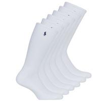 Kiegészítők Férfi Zoknik Polo Ralph Lauren ASX110 6PK CR PP-CREW-6 PACK Fehér
