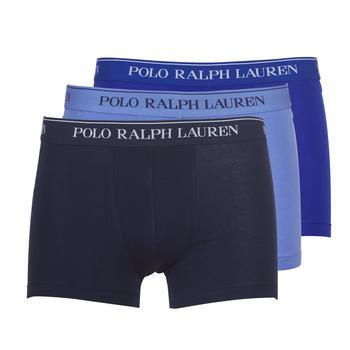 Fehérnemű Férfi Boxerek Polo Ralph Lauren CLASSIC-3 PACK-TRUNK Kék
