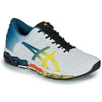 Cipők Férfi Rövid szárú edzőcipők Asics GEL-QUANTUM 360 5 Fehér / Sokszínű