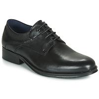 Cipők Férfi Oxford cipők Carlington LUCIEN Fekete