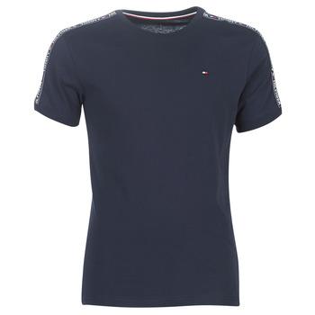 Ruhák Férfi Rövid ujjú pólók Tommy Hilfiger AUTHENTIC-UM0UM00562 Tengerész