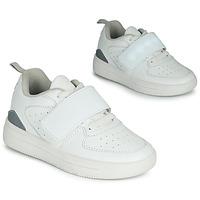 Cipők Gyerek Rövid szárú edzőcipők Primigi INFINITY LIGHTS Fehér