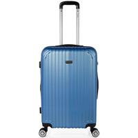 Táskák Keményfedeles bőröndök Itaca Sevron között Kék zafír