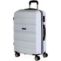 Táskák Keményfedeles bőröndök Itaca Elba Fehér