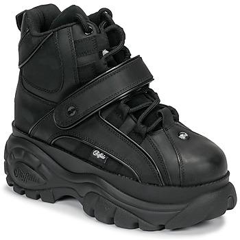 Cipők Női Magas szárú edzőcipők Buffalo 1348 Fekete