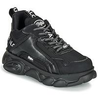 Cipők Női Rövid szárú edzőcipők Buffalo CHAI Fekete  / Fehér