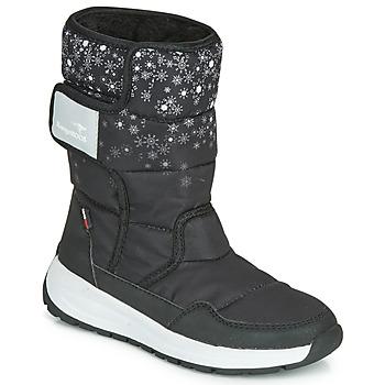 Cipők Női Hótaposók Kangaroos K-FLUFF RTX Fekete  / Szürke