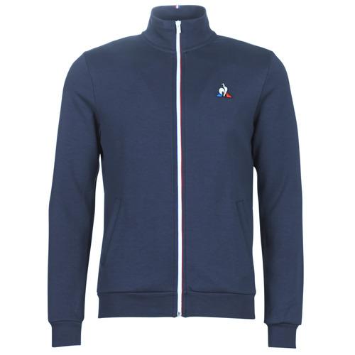 Ruhák Férfi Melegítő kabátok Le Coq Sportif ESS FZ SWEAT N°2 M Kék / Tengerész