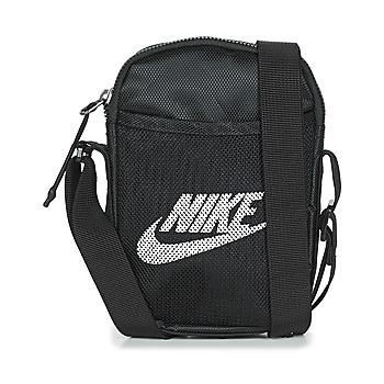 Táskák Kistáskák Nike NK HERITAGE S SMIT Fekete