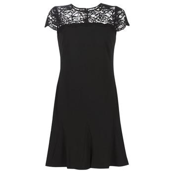 Ruhák Női Rövid ruhák Lauren Ralph Lauren CALLY Fekete