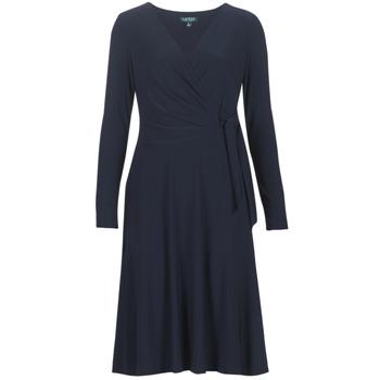Ruhák Női Hosszú ruhák Lauren Ralph Lauren COREEN Tengerész